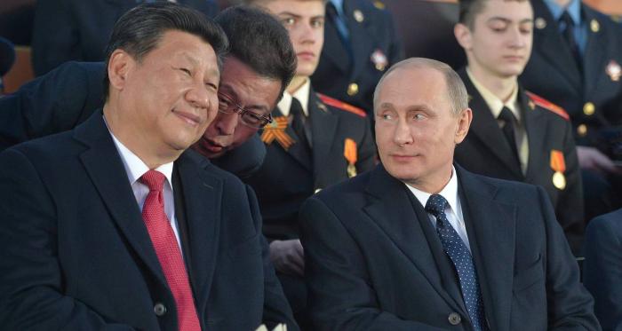 Россия и Китай сплотились перед лицом общего врага