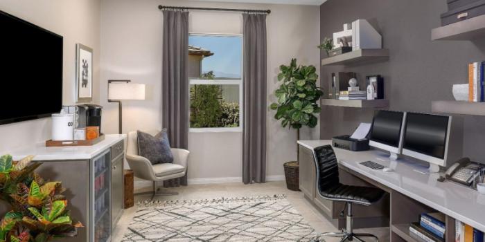 Новостройки в США уже предусматривают место для домашнего мини-офиса