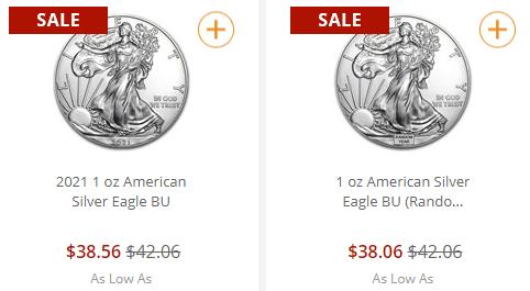 Монетный двор США останавливает продажу некоторых серебряных монет из-за дефицита драгметалла