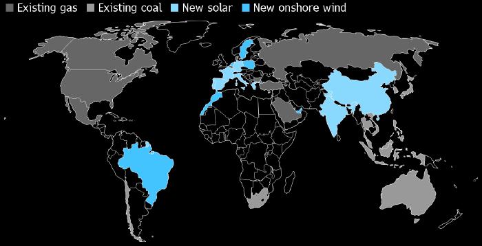 В половине стран мира выгоднее построить «зеленую» электростанцию, чем жечь уголь или газ